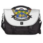 Brandford Family Crest Laptop Messenger Bag