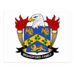 Brandford Family Crest Post Cards