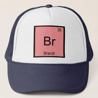 Brandi Name Chemistry Element Periodic Table Trucker Hat