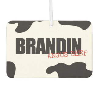 "Brandin ""Angus Beef"" Trendy Air Freshener"