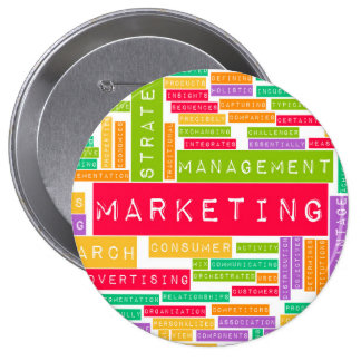 Branding and Marketing as a Business Concept Button