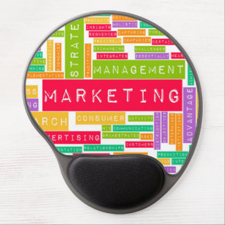 Branding and Marketing as a Business Concept Gel Mouse Pad
