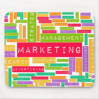 Branding and Marketing as a Business Concept Mouse Pad