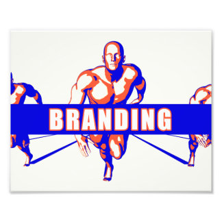 Branding as a Competition Concept Photo Print