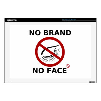 Branding restriction protest laptop decal