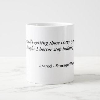 Brandi's Crazy eyes mug Jumbo Mug