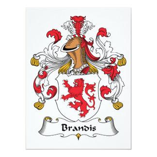 Brandis Family Crest Card