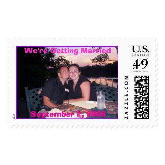 Brandon_Arienne (2), September 2, 2006, We're G... Stamps