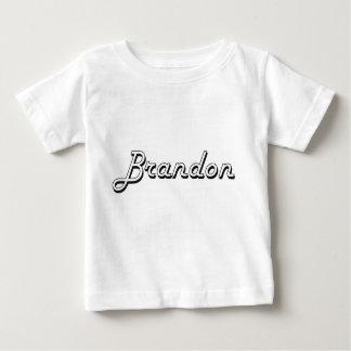 Brandon Classic Retro Name Design Tshirt