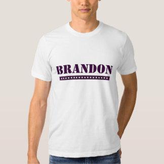 Brandon de encargo playera