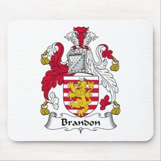 Brandon Family Crest Mouse Mat