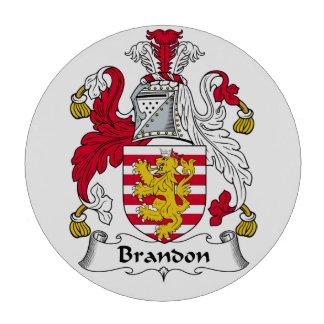Brandon Family Crest Poker Chip Set