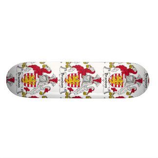 Brandon Family Crest Skate Board Deck