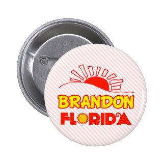 Brandon, Florida 2 Inch Round Button