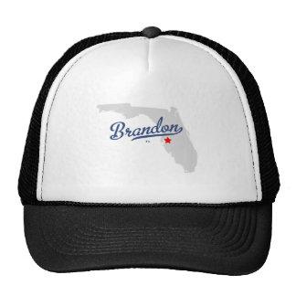 Brandon Florida FL Shirt Mesh Hats