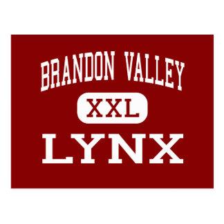 Brandon Valley - Lynx - High - Brandon Postcard