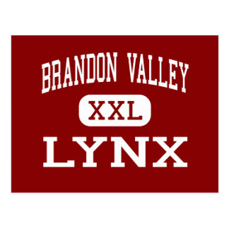Brandon Valley - Lynx - Middle - Brandon Postcard