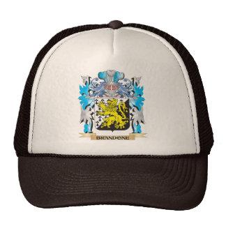 Brandone Coat of Arms Mesh Hats