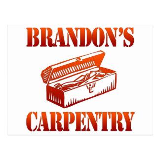 Brandon's Carpentry Postcard