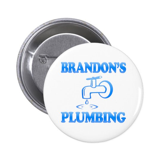 Brandon's Plumbing Pinback Button