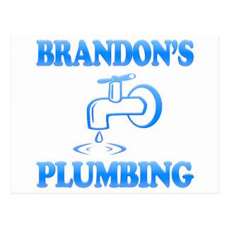 Brandon's Plumbing Postcard