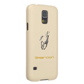 Brandon's Samsung Galaxy s5 Horse case in brown