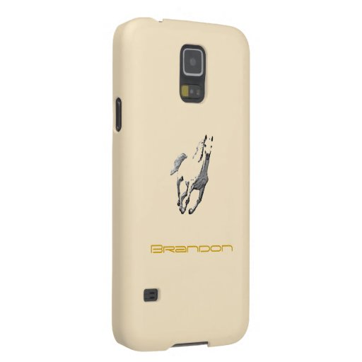 Brandon's Samsung Galaxy s5 Horse case in brown Galaxy S5 Cases