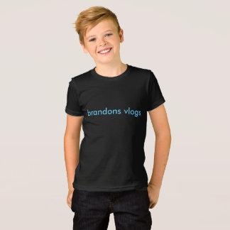 brandonv vlogs kids t-shirts