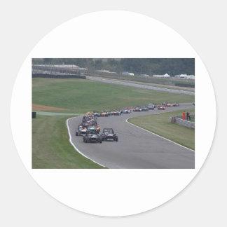 Brands Hatch Classic Round Sticker