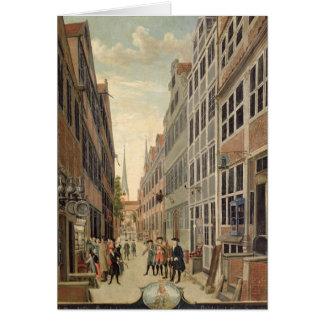 Brandstweite in Hamburg, 1775 Card
