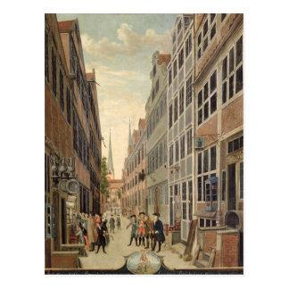 Brandstweite in Hamburg, 1775 Postcard