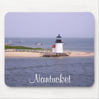 Brandt Point Lighthouse Nantucket MA Mousepad