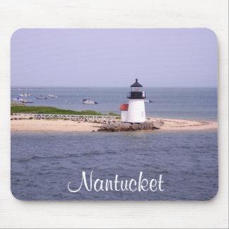 Brandt Point Lighthouse Nantucket MA Mousepad
