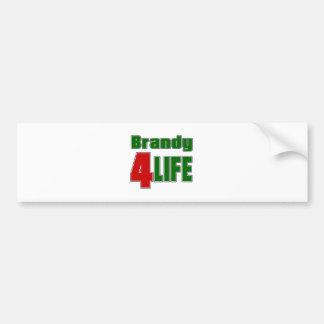 Brandy 4 Life Car Bumper Sticker