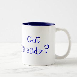 ¿Brandy conseguido? Taza De Dos Tonos