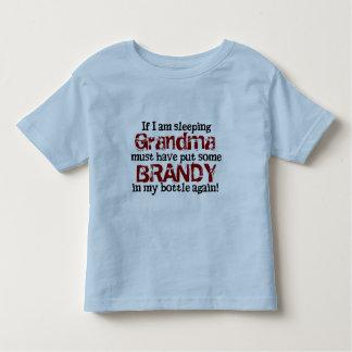 Brandy en el biberón camisas