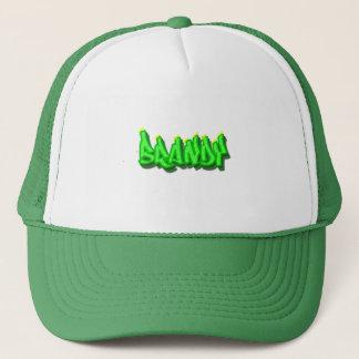 Brandy Graffiti Trucker Hat
