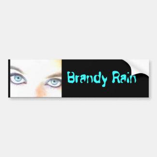 Brandy Rain Bumper Sticker Car Bumper Sticker