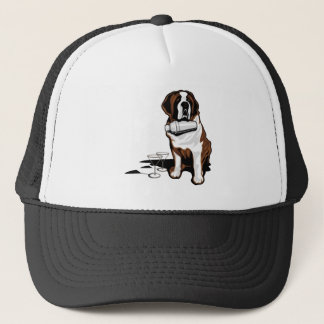 Brandy Rescue Dog Trucker Hat