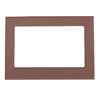 Brandy Solid Color Magnetic Photo Frame