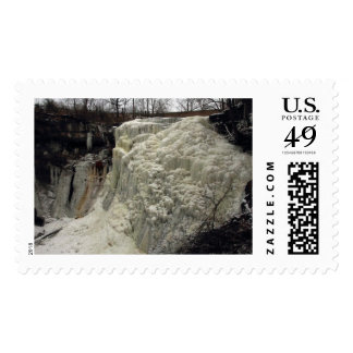 Brandy Wine Falls Winter 2014 Postage Stamps
