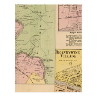 Brandywine Banks Postcards