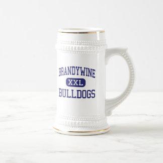Brandywine - dogos - alto - Wilmington Delaware Taza De Café