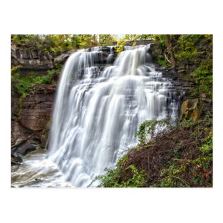 Brandywine Falls Cuyahoga National Park Postcard