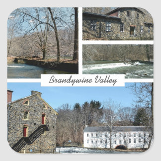 Brandywine Valley Square Sticker