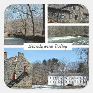 Brandywine Valley Square Sticker
