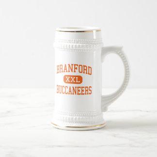 Branford - Buccaneers - altos - Branford la Florid Tazas De Café
