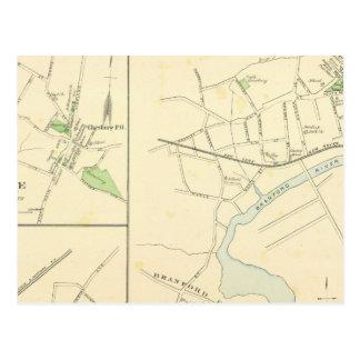 Branford, Cheshire, N Haven Postcard