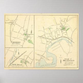 Branford, Cheshire, N Haven Poster