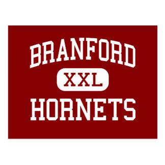 Branford - Hornets - High - Branford Connecticut Postcard